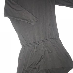 Old navy long sleeve romper black small